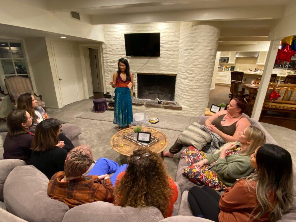 Cheryl Participates in Business Mastermind in LA